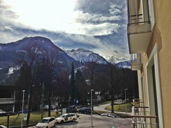 Hotel Edelweiss: Blick aus dem Hotelzimmer!