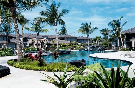 Aston Waikoloa Colony Villas: Pool View