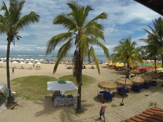 Brisa do Caita Praia Hotel: Vista da varanda do hotel