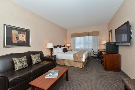 BEST WESTERN Cranbrook Hotel: Deluxe King Guest Room with Sofabed