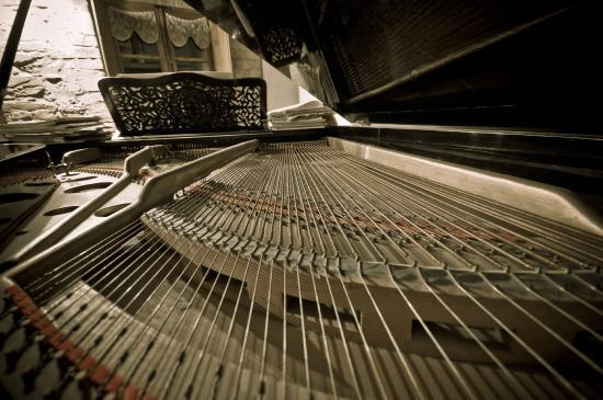 Locanda del Loggiato: Sala Relax-Pianoforte