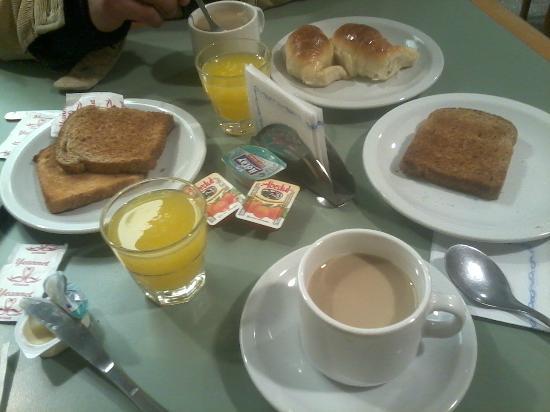 Gran Hotel Atlantic: desayuno