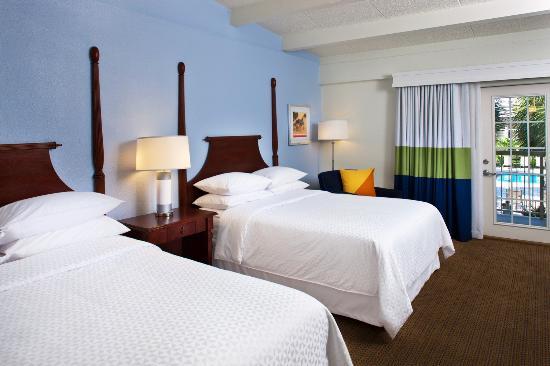 Four Points by Sheraton Destin- Ft Walton Beach: Courtyard Room Guestroom