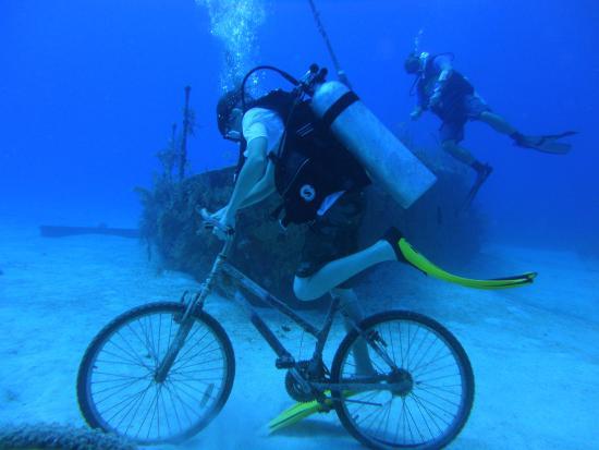 Cayman Turtle Divers: fun shipwreck dives