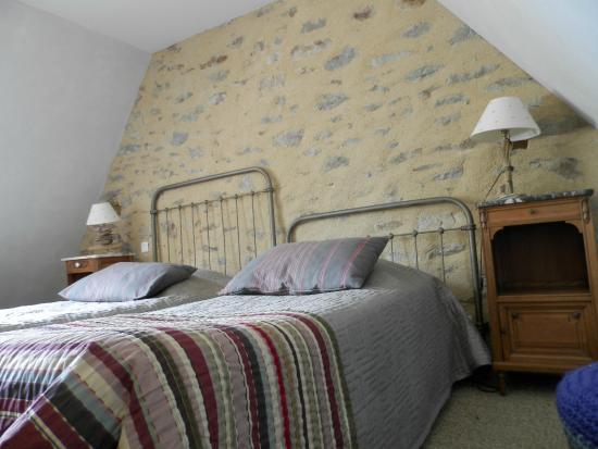 Chambres d'hotes Talvern : Slaapkamer
