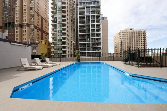 Rooftop Swimming Pool Picture Of Metro Hotel Marlow Sydney Central Sydney Tripadvisor