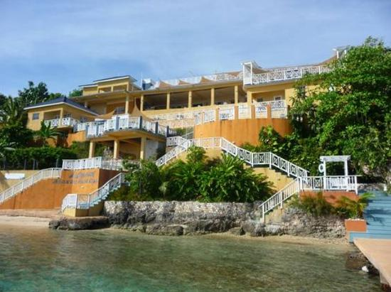 Moxons Beach Club: View From The Sea