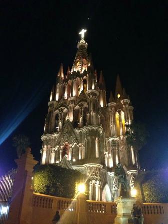 Hacienda El Santuario: Church San Miguel