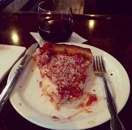 Lou Malnati's Pizzeria: Classic Lou's...sausage, cheese, tomatoes in a deep dish. A staple each time I am in Chicagoland