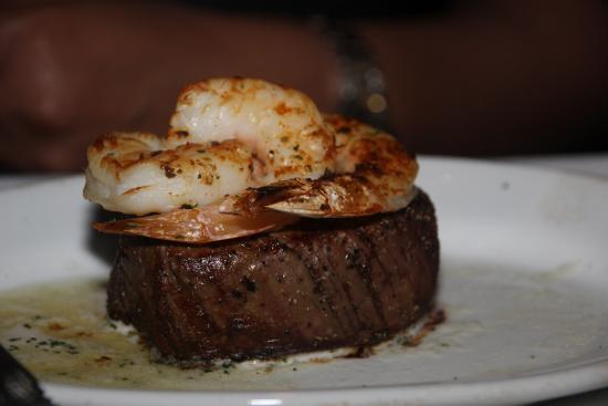 Ruth's Chris Steak House: Steak and shrimp