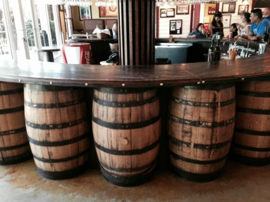 bar made from wine barrels picture of schnebly redland 39 s