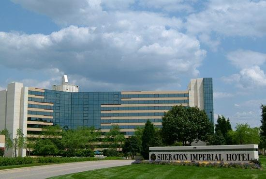 Sheraton Imperial Hotel and Convention Center: Exterior