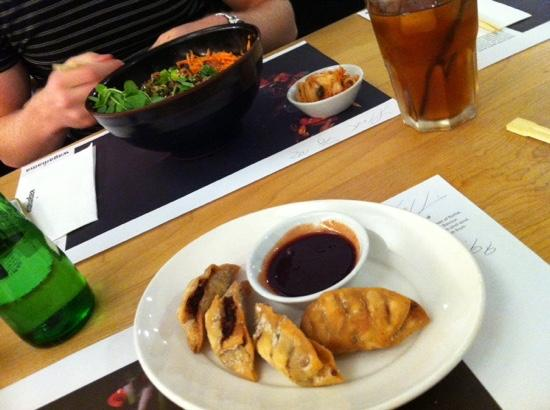 Wagamama - Manchester Printworks: Our first experience of Wagamama food