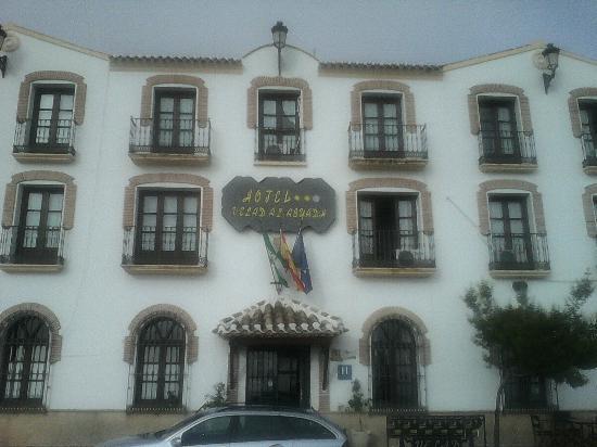 Hotel Velad: Facha y puerta principal