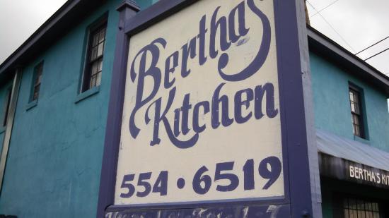 Bertha S Kitchen Charleston South Carolina