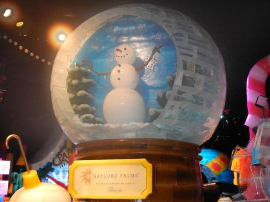 Gaylord Palms Resort & Convention Center: Beautiful ice sculptures