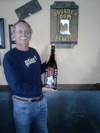 Boulder Dam Brewing Company : Bill always enjoys his beer