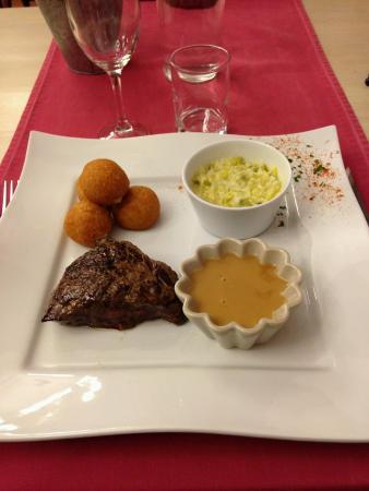 Hotel Restaurant Le Chatel: Viande limousine très goûteuse