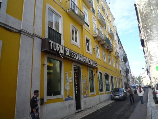 Turim Restauradores Hotel: buitenkant hotel