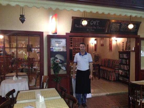 Blue Cafe & Restaurant: A Warm Welcome!