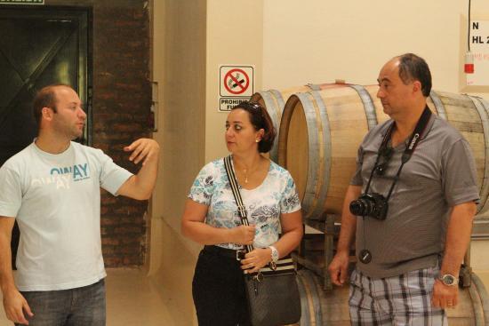 Bodega Achaval Ferrer: Visita ao interior da vinícola
