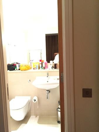 Looking into the bathroom the light switch to the right of the door the nadler kensington looking into the bathroom the light switch to the right of the aloadofball Choice Image