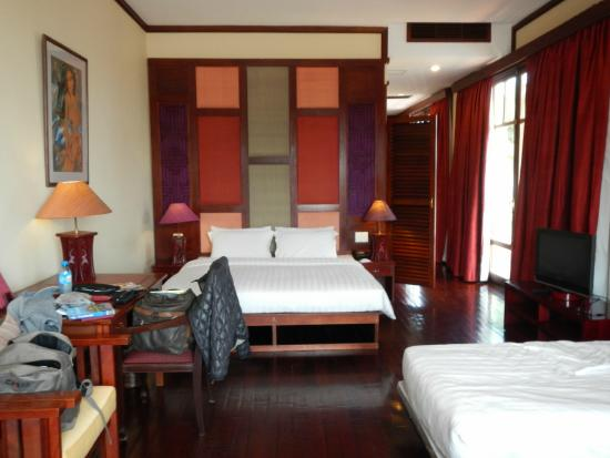 AMANJAYA Pancam Suites Hotel: Camas supercomodas