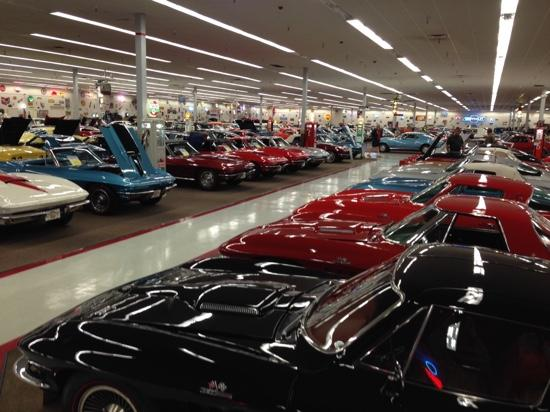 "Muscle Car City Museum: Part of ""Corvette Row"""