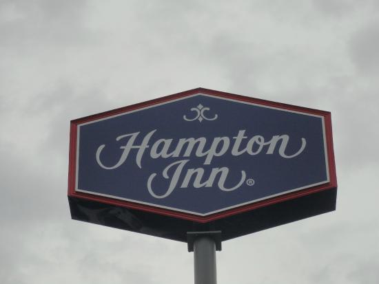Hampton Inn Jonesville/Elkin: Visable from road