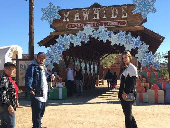 Rawhide Western Town & Event Center: Rawhide entrance
