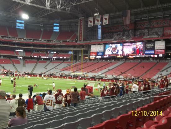 University Of Phoenix Stadium Tours Review