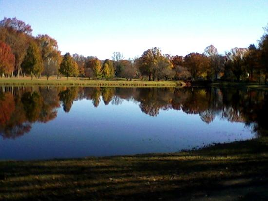 Cranford, NJ: Lake before the renovations