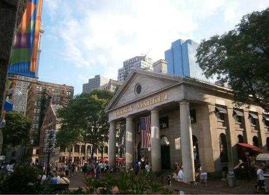 Intercontinental Boston Hotel Quincy Market In Walking Distance