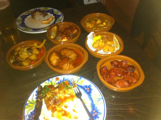 La Tasca Liverpool: Photo doesn't do enough justice!