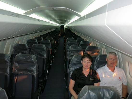 Barbados Concorde Experience: Interior   Really Narrow. Seats Are Really  Comfortable.