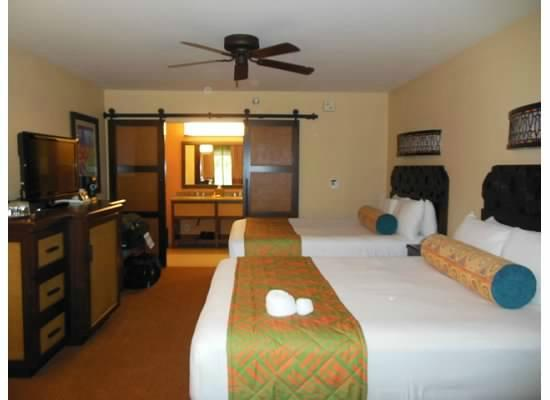 Disneys Caribbean Beach Resort Our Room