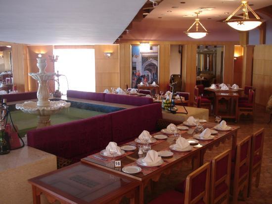 Safir Hotel Mazafran: Restaurant