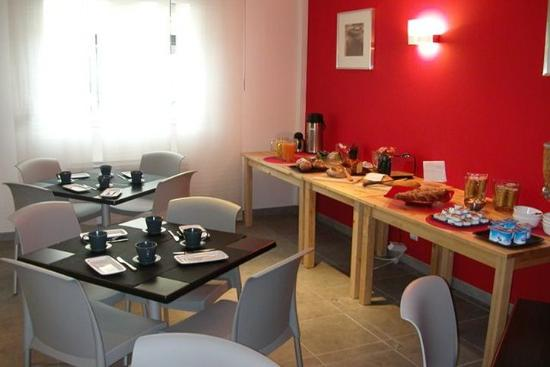 Ruby Suites Quartier Les Halles : Restaurant