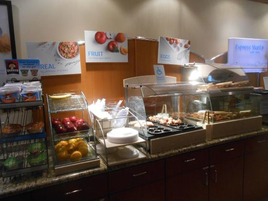 Holiday Inn Express Fremont: Buffet