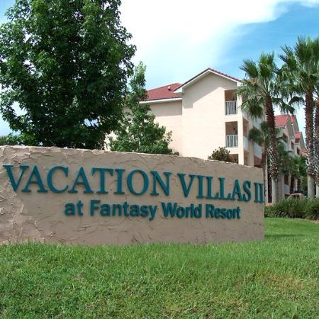 Vacation Villas at Fantasy World II: Vv Entrance