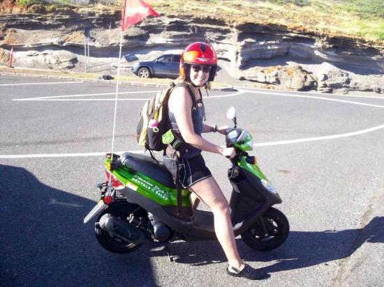 Hawaiian Style Rentals & Sales : day-long moped rental!