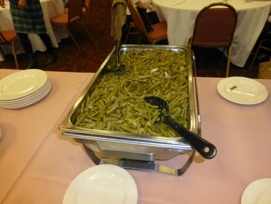 Pullman Plaza Hotel: Canned Green Beans
