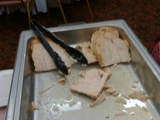 Pullman Plaza Hotel: Pressed Turkey Breast