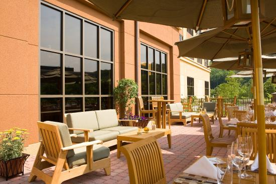Sheraton Tarrytown Hotel: Patio