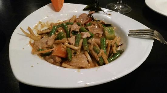 Thai House Cuisine - OPEN : Spicy pork is awesome