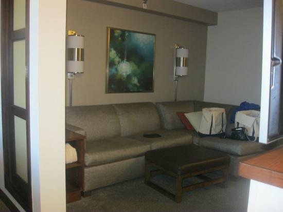 Hyatt Place Mystic: Very comfortable sitting area