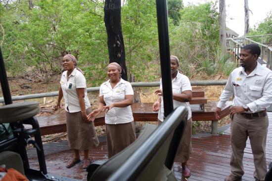Chitabe Camp: Chitabe team!