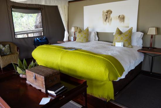 Chitabe Camp: Schlafraum