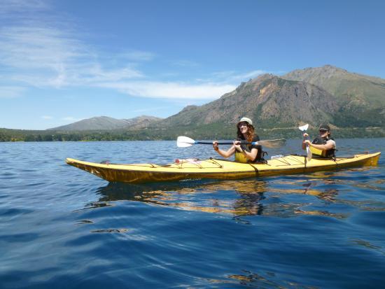 Cuadrante Sur Kayak Bariloche: Remando en el Lago Gutiérrez