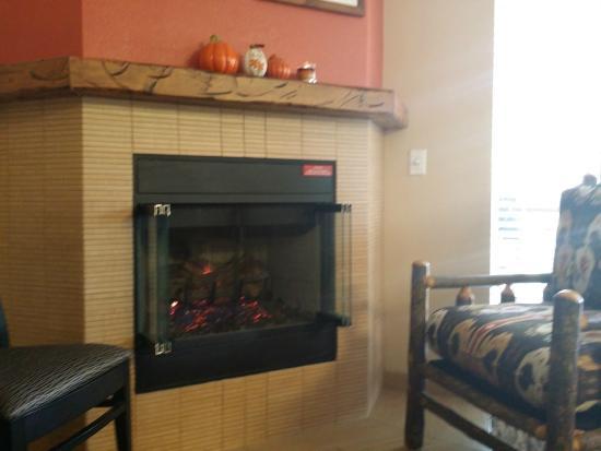 Worldmark at Big Bear: Fireplace